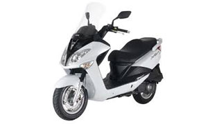 Rent a bike Karpathos SYM S MEGA